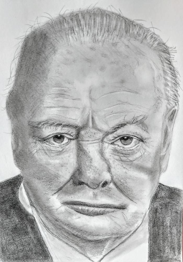 Winston Churchill por paulb